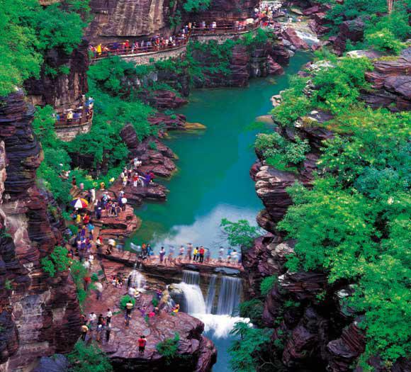 云台山风景区--河南省自驾旅游协会
